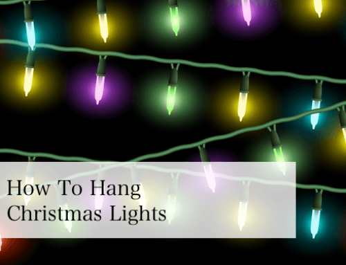 best way to hook up outdoor christmas lights Whats the best way to hang christmas light ducttape for holding up the lights because sell to hook lights to the edge of your.
