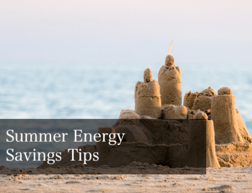 Summer Energy Saving Tips