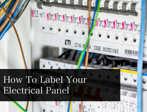 How To Label your Electrical Panel