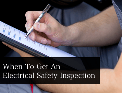When To Get An Electrical Safety Inspection