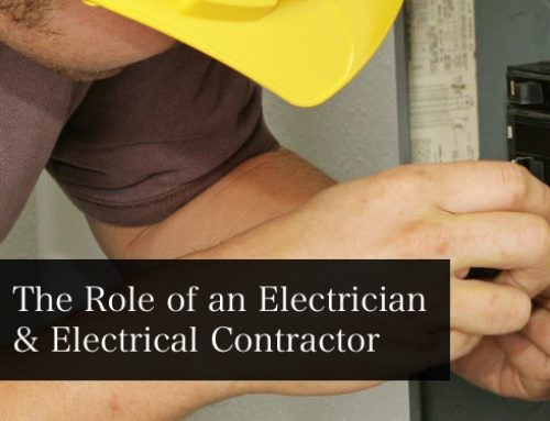 General Topic: The Role of an Electrician & Electrical Contractor in 2017
