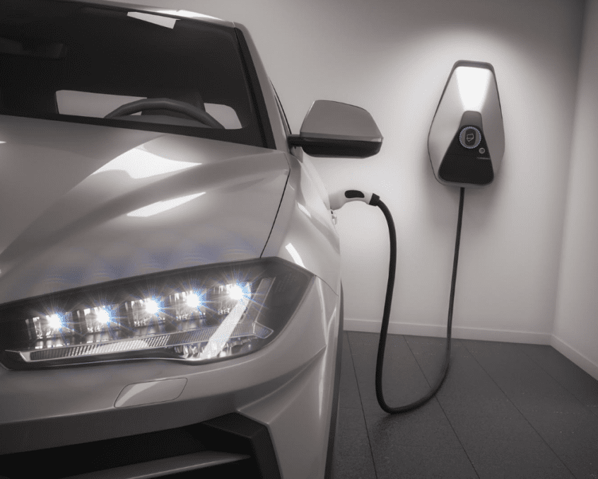installed your ev charger station at home with bc ev rebate program